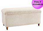 Stuart Jones Boston Fabric Ottoman