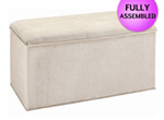Knightsbridge Fabric Blanket Box
