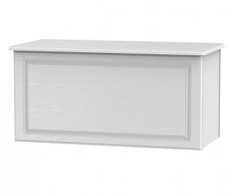 Snowdon White Wooden Blanket Box