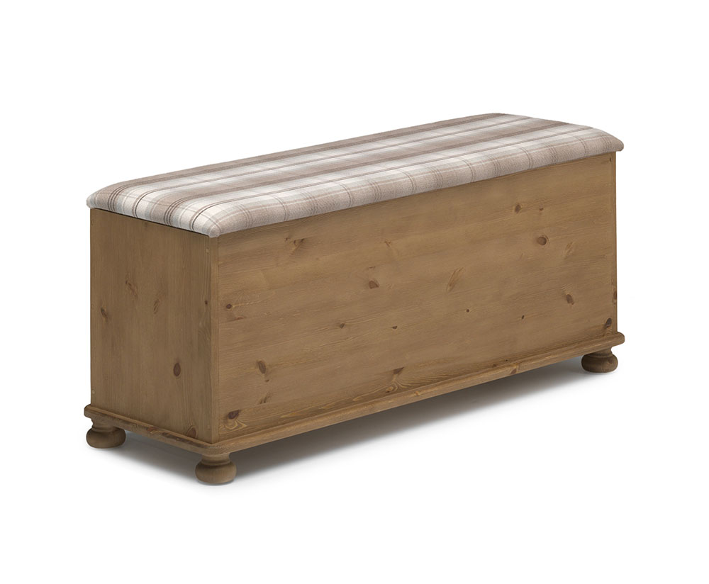 Chests of drawers Foggia Fabric Top Wooden Ottoman
