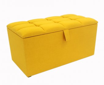 Turino Buttoned Top Upholstered Ottoman