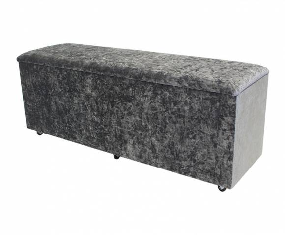 Chests Jenny Wool Effect Oatmeal Upholstered Ottoman *Special Offer* wool effect oatmeal