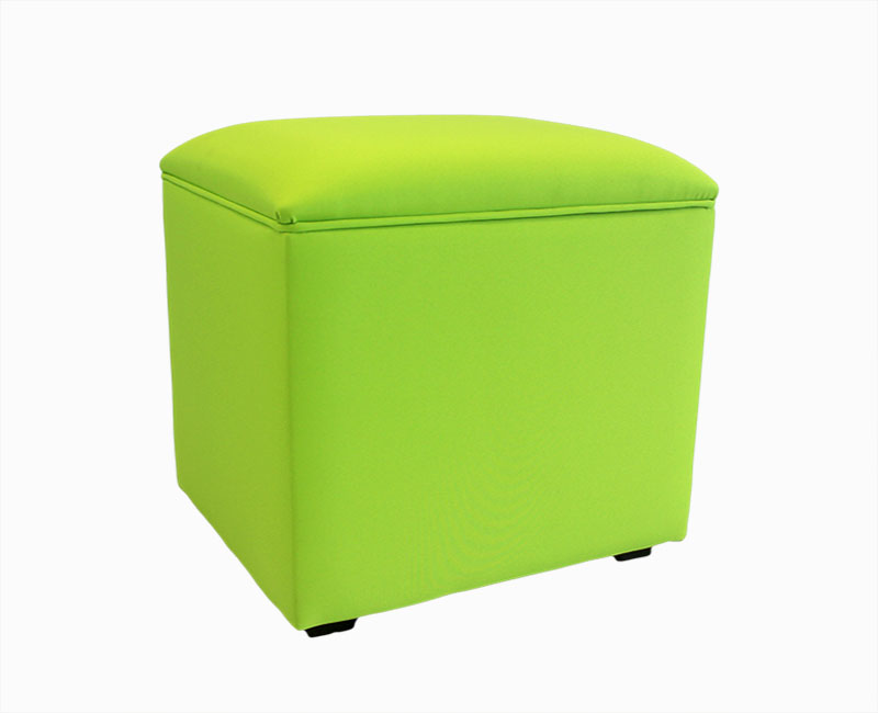 Chests Smoothie Lime Small Upholstered Workbox *Special Offer*