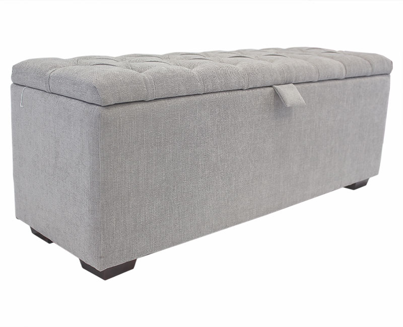 Chests Breton Large Buttoned Upholstered Ottoman *Special Offer*