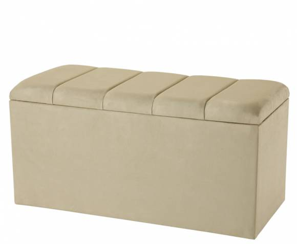 justottomans.co.uk Florence Chocolate Faux Suede Ottoman  *Special Offer*