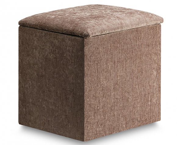 justottomans.co.uk  Jenny Chenille Meadow Upholstered Workbox *Special Offer*
