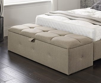 Braque Buttoned Upholstered Ottoman