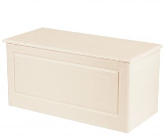 Snowdon Cream Wooden Blanket Box