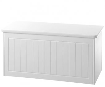 Warwick White Wooden Blanket Box