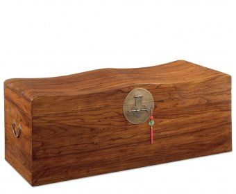 Shanghai Warm Elm Blanket Storage Trunk