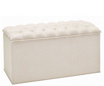 Adelphi Upholstered Traditional Ottoman