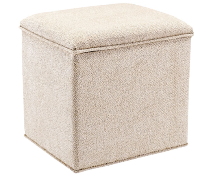 justottomans.co.uk Grosvenor Upholstered Storage Stool ari beige