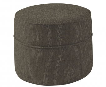 Wells Round Upholstered Pouffe