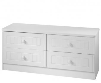 Warwick White Wooden Bed Box