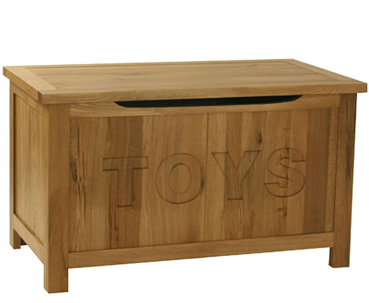 Morgan Childrens Wooden Toy Box | Just Ottomans