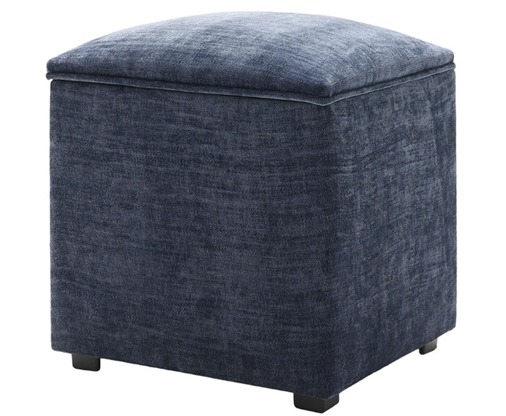 Kingsley Small Upholstered Workbox Just Ottomans