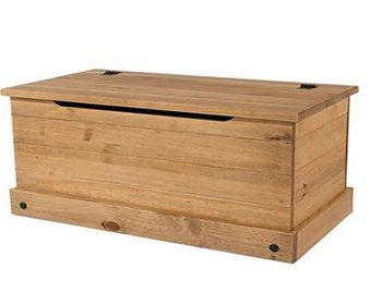Raymont Solid Pine Ottoman