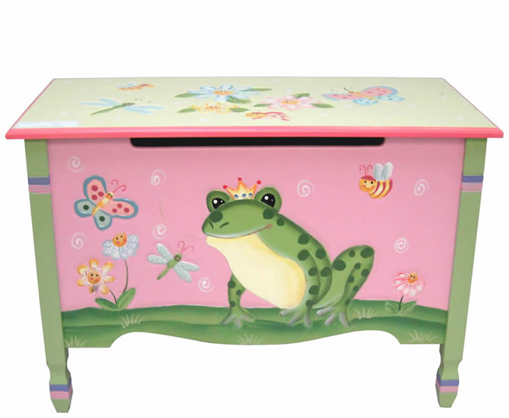 justottomans.co.uk Magic Garden Childrens Toy Box