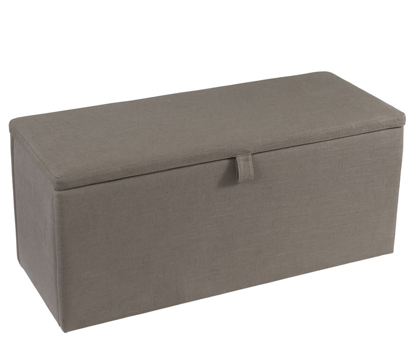 justottomans.co.uk Abbey Fossil Grey Upholstered Ottoman assembly - no thank you