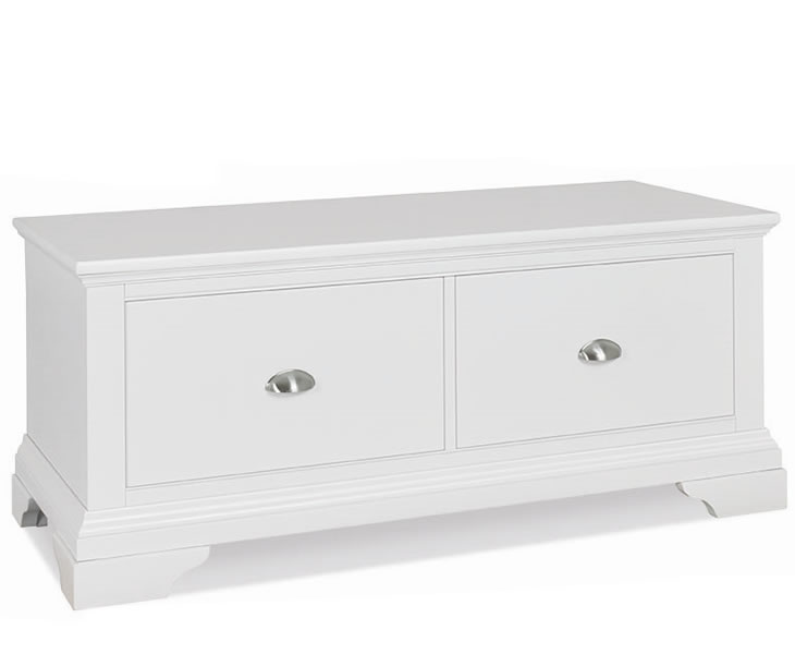 Chests of drawers Hampstead White Painted Oak Ottoman