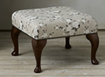 Rubens Fabric Step Stool